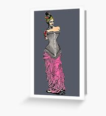 Goddess of Steampunk  Greeting Card
