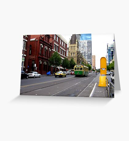 Melbourne # 3 Greeting Card