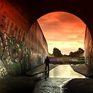 Those Toxic Outfall Sunsets... by JAZ art