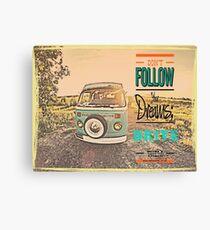 VW Drive your dreams Canvas Print