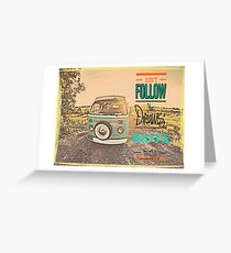 VW Drive your dreams Greeting Card