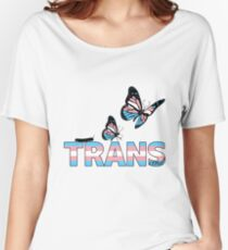 Trans Pride - LGBQT+ - Pride - Trans youth - Transgender Women's Relaxed Fit T-Shirt