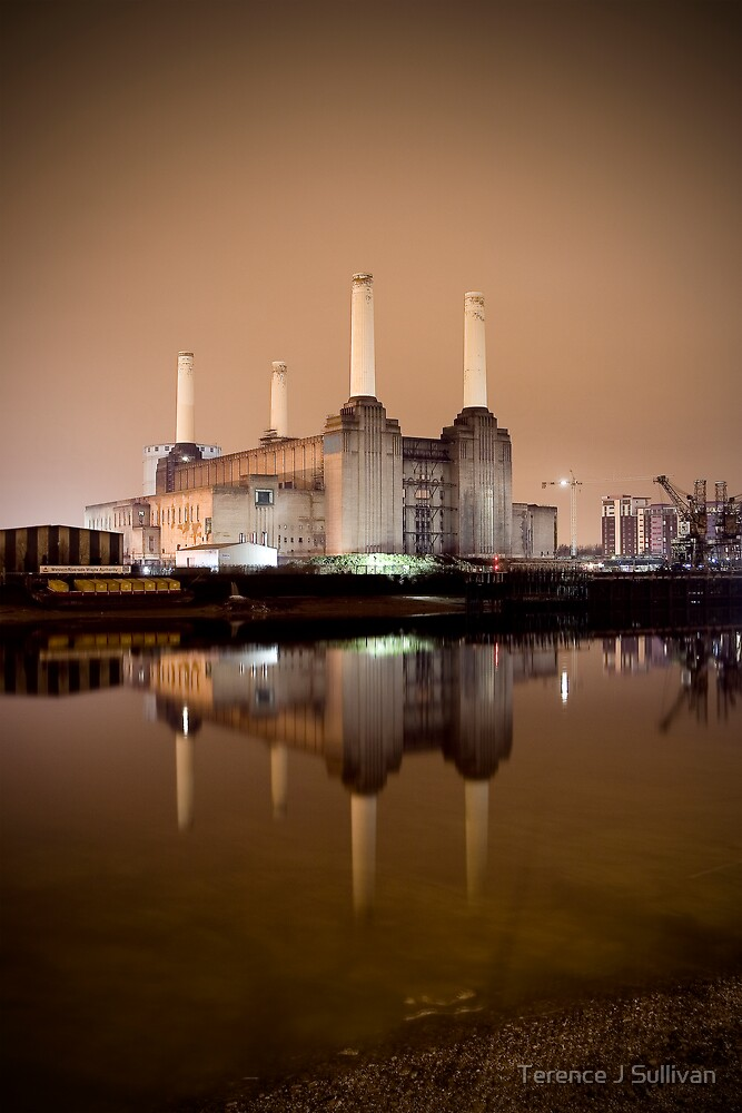 Battersea power  by Terence J Sullivan