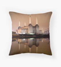 Battersea power  Throw Pillow