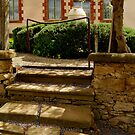 Villa Entrance by Joe Mortelliti