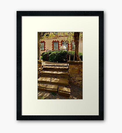 Villa Entrance Framed Print