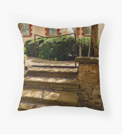 Villa Entrance Throw Pillow