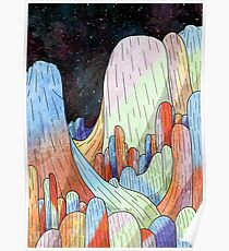 Coral Mountains Poster