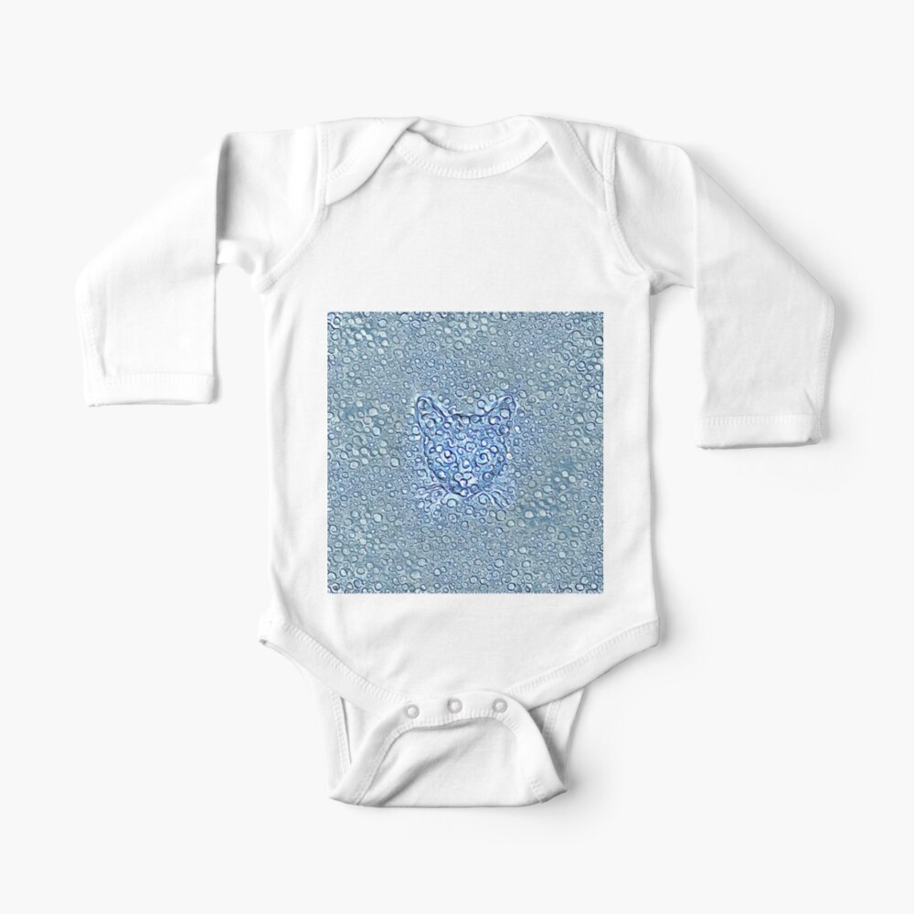 Maritime droplets cat Baby One-Piece