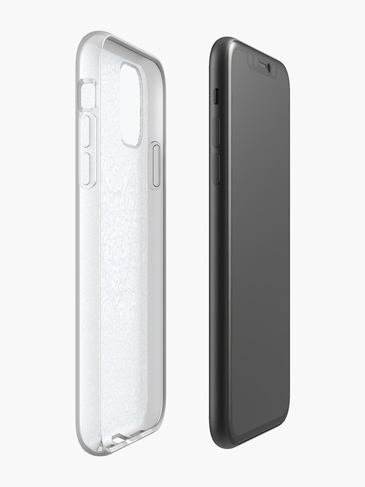 Alternate view of Maritime droplets cat iPhone Case & Cover