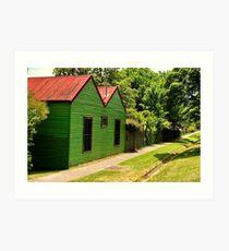 The Green House Affect !! Art Print