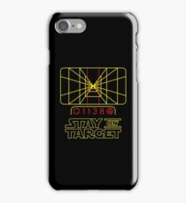 "Star Wars inspired ""Stay On Target"" T-Shirt iPhone Case/Skin"