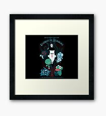 Lovecraft's Home For Eldritch Horrors Framed Print