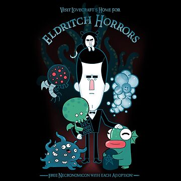 Lovecraft's Home For Eldritch Horrors by Queenmob