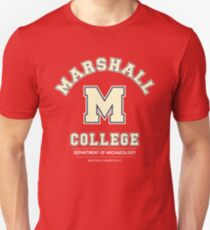 Indiana Jones - Marshall College Archaeology Department T-Shirt