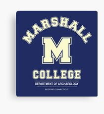 Indiana Jones - Marshall College Archaeology Department Canvas Print