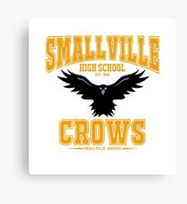 smallville crows Canvas Print