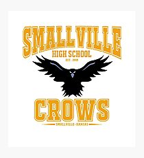 smallville crows Photographic Print
