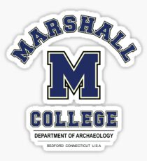 Indiana Jones - Marshall College Archaeology Department Variant Sticker