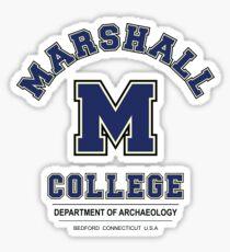 Indiana Jones - Marshall College Archaeology Department Variant Sticker