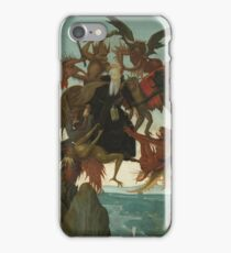 Domenico Ghirlandaio - The Torment Of Saint Anthony iPhone Case/Skin