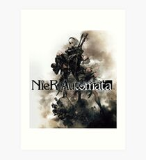 NieR: Automata Artwork Art Print