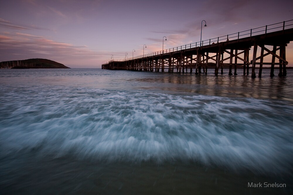 Coffs Harbour Jetty 5 by Mark Snelson