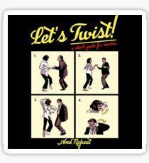 Let's Twist - Pulp Fiction Sticker