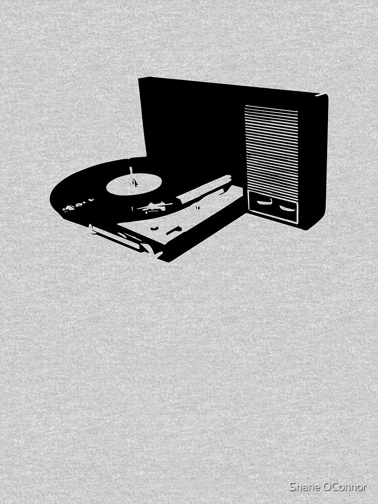 RETRO TURNTABLE by ShaneConnor