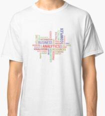 Analitics, business,information,resources Classic T-Shirt