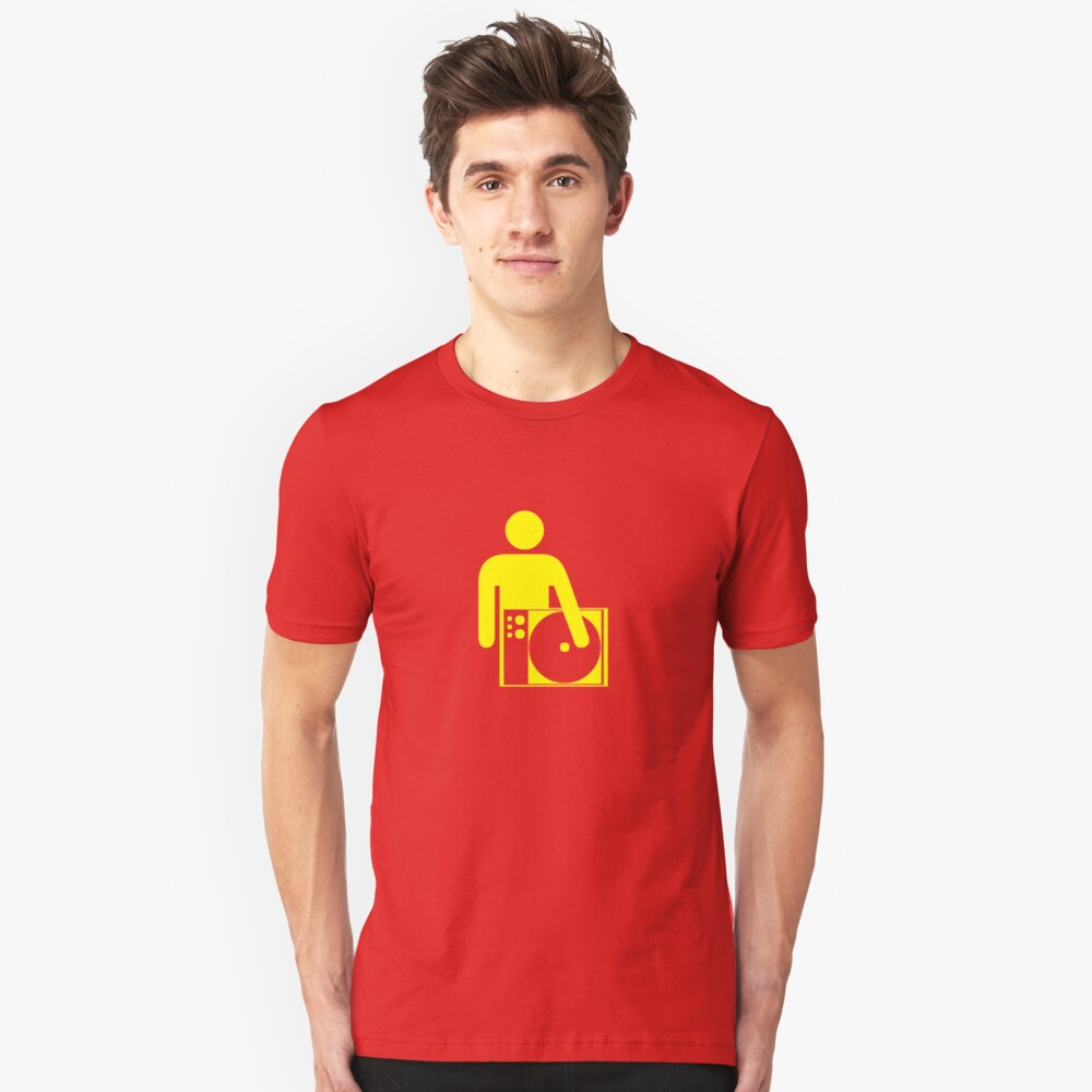 GET YOUR HAND OFF OF MY DECK Unisex T-Shirt Front