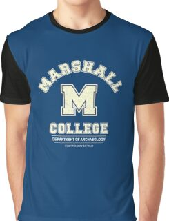 Indiana Jones - Marshall College Archaeology Department Distressed Graphic T-Shirt