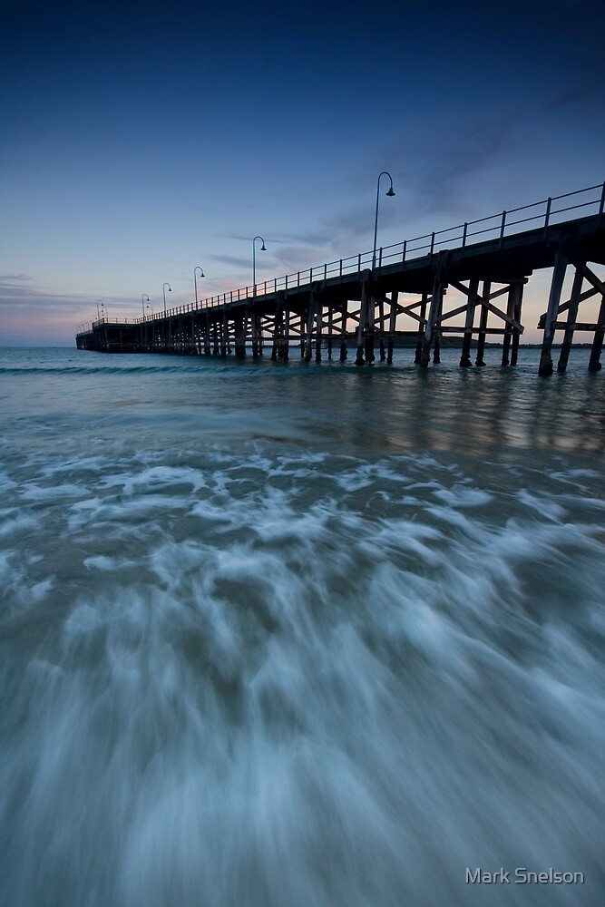 Coffs Harbour Jetty 3 by Mark Snelson