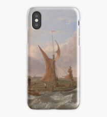 Clarkson Frederick Stanfield - Tilbury Fort--Wind Against The Tide 1853 iPhone Case/Skin