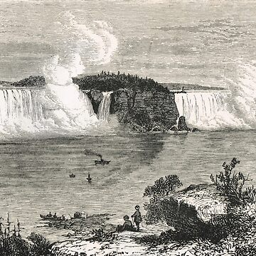 Niagara Falls in the 19th century by artfromthepast