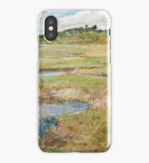 Childe Hassam - The Concord Meadow, Concord, Massachusetts iPhone Case/Skin