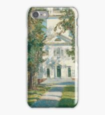 Childe Hassam - The Church At Gloucester iPhone Case/Skin