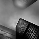 Downtown Toronto Fogfest No 1 by Brian Carson