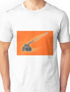 Drawing of ink bottle and feather pen  Unisex T-Shirt