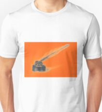 Drawing of ink bottle and feather pen  T-Shirt