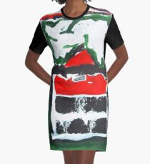 the temple Graphic T-Shirt Dress