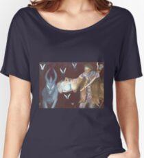 Monster hunter warlock Women's Relaxed Fit T-Shirt