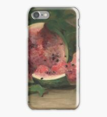 Charles Ethan Porter - Untitled (Cracked Watermelon) iPhone Case/Skin