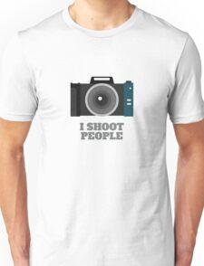 I Shoot People (DSLR Camera) Unisex T-Shirt