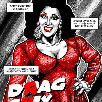 Drag City - Mrs Kasha Davis by GillesBone