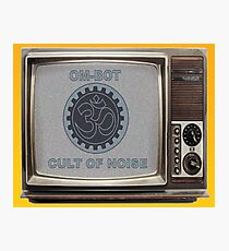 OM-BOT Noise Cult TV Photographic Print