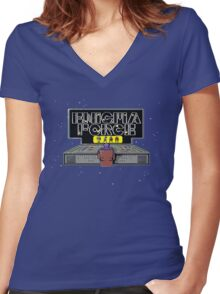 Gaming [C64] - Enigma Force Women's Fitted V-Neck T-Shirt