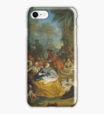 Carle Vanloo - The Hunt Breakfast iPhone Case/Skin