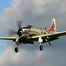 Douglas Skyraider by SWEEPER
