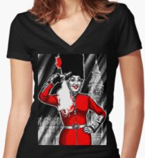 Drag City - Charlie Hides Women's Fitted V-Neck T-Shirt